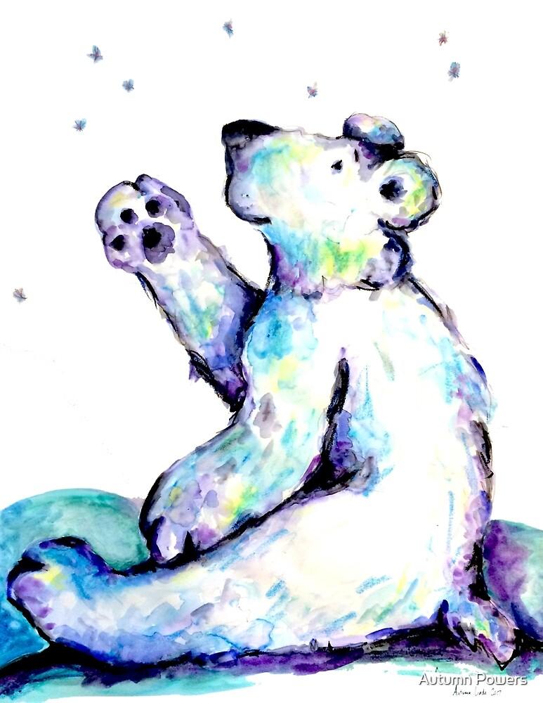 Polar Bear Cub 3 by Autumn Linde