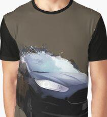 Automotive Splatter Graphic T-Shirt