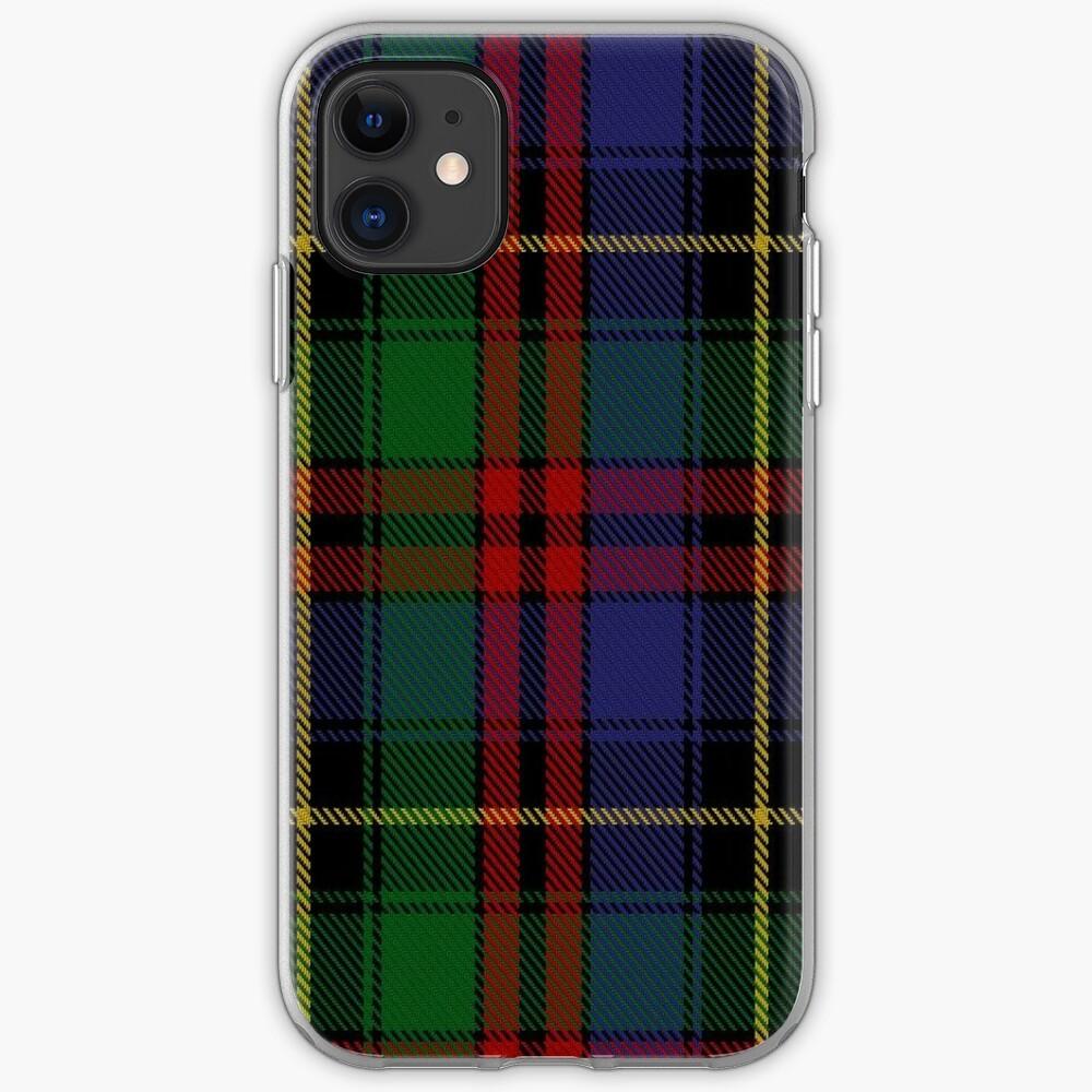 02377 Deas Clan/Family Tartan  iPhone Case & Cover
