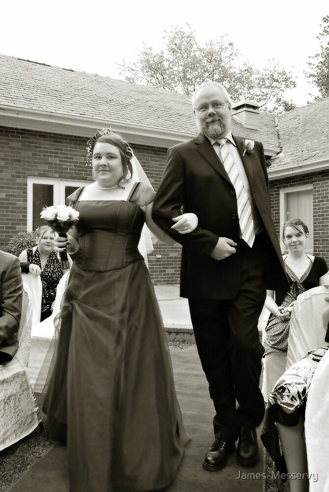 Here comes the Bride by James  Messervy
