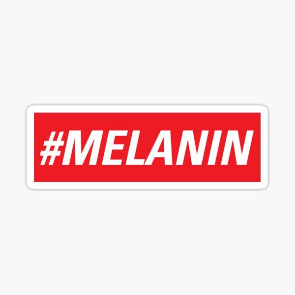 #MELANIN by TBROCKART Sticker