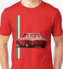 The red vintage Italy T-Shirt