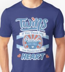Blue Twins If you think my Heart is Full T-Shirt