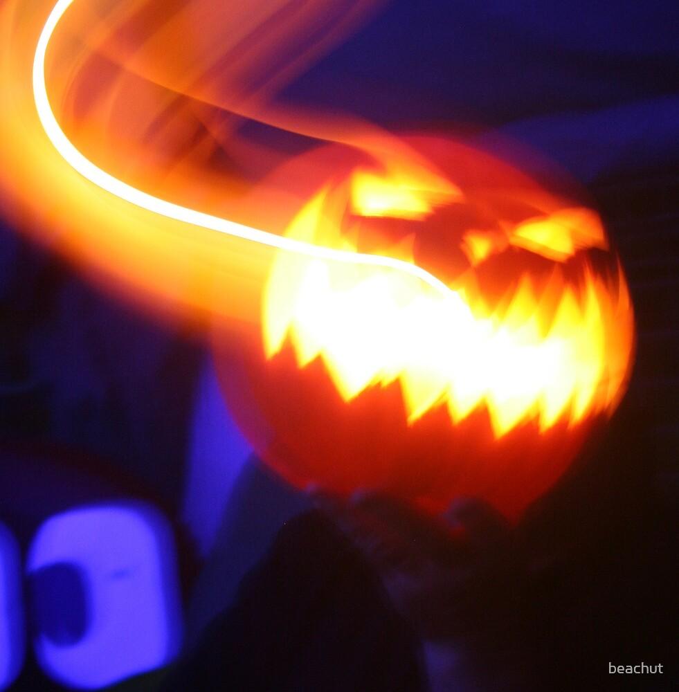 Scary moving pumpkin by beachut