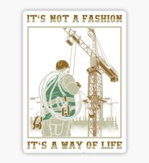 Tower Crane Operator Sticker