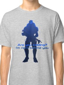 There is no Shepard without Vakarian! Classic T-Shirt