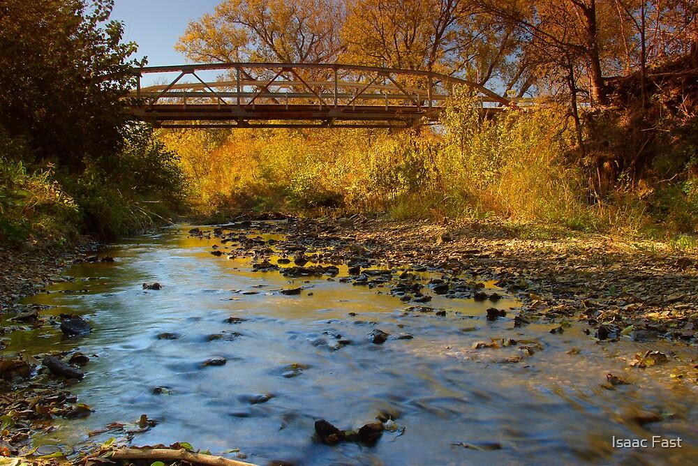Bluebird Crossing Bridge by Isaac Fast