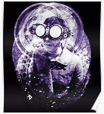 SteamPunk Mad Scientist Poster
