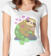 Pretty Mersloth  Women's Fitted Scoop T-Shirt