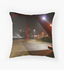The Steel Sculpture Throw Pillow