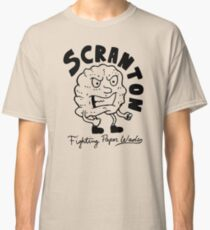 Scranton Fighting Paper Wads Classic T-Shirt