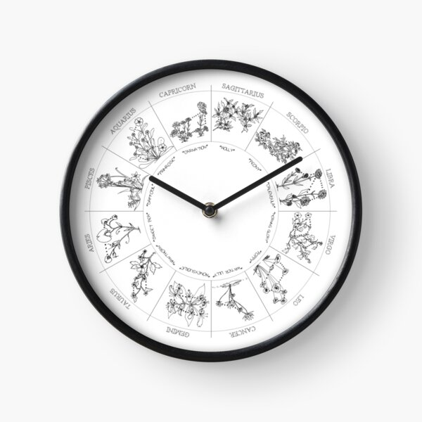 Floral Constellation - Ensemble Clock