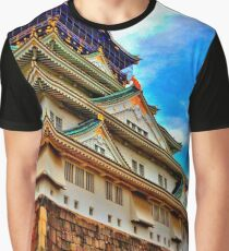 Osaka Castle, HDR Graphic T-Shirt