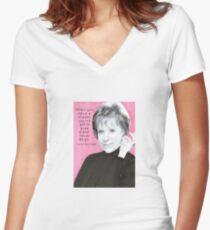 Carol Burnett Women's Fitted V-Neck T-Shirt