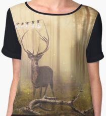The Stag Chiffon Top