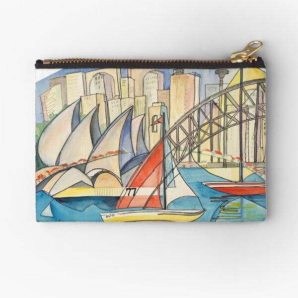 Sydney Harbor Australia Zipper Pouch