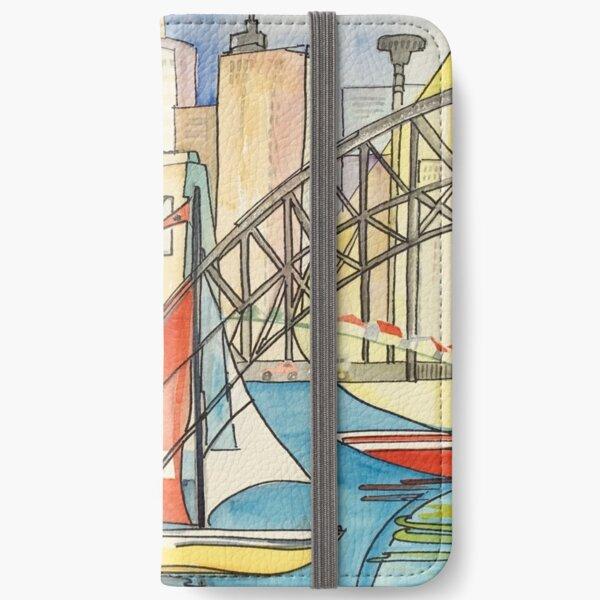Sydney Harbor Australia iPhone Wallet
