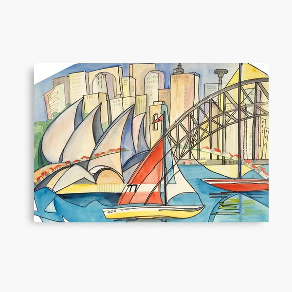 Sydney Harbor Australia Canvas Print