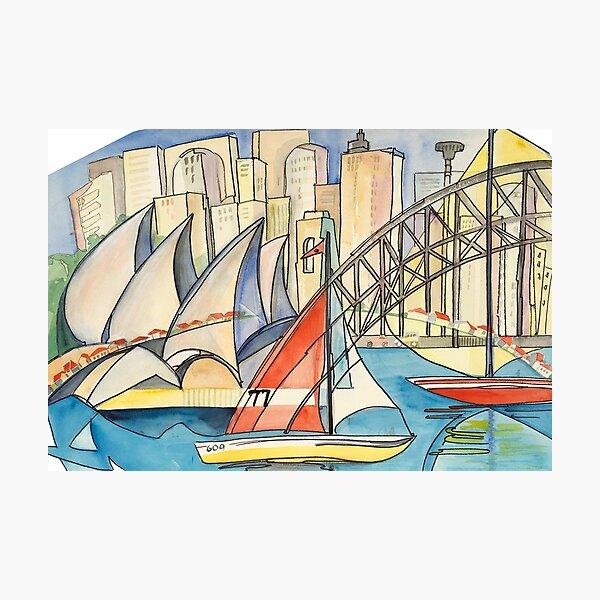 Sydney Harbor Australia Photographic Print