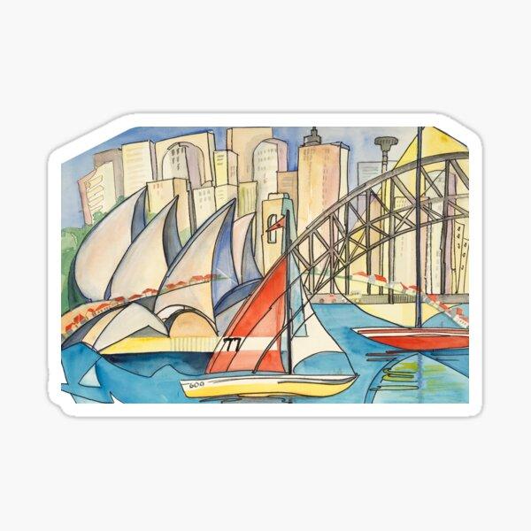 Sydney Harbor Australia Sticker