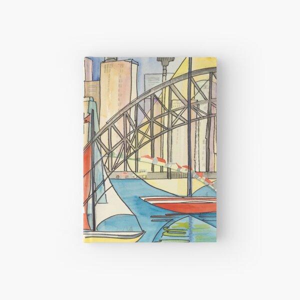 Sydney Harbor Australia Hardcover Journal