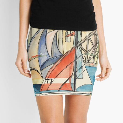 Sydney Harbor Australia Mini Skirt