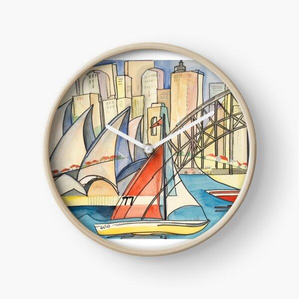 Sydney Harbor Australia Clock