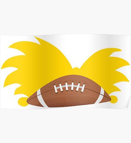 Football Head Poster