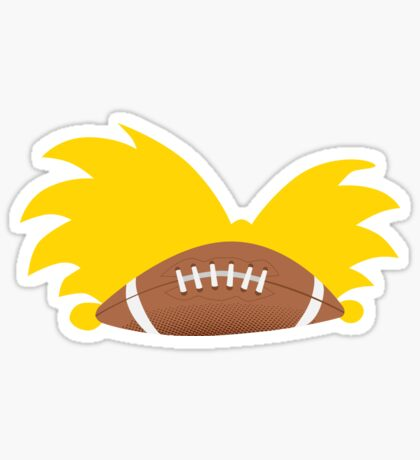 Football Head Sticker