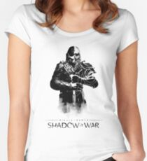 Shadow of War  Women's Fitted Scoop T-Shirt