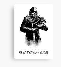 Shadow of War  Canvas Print