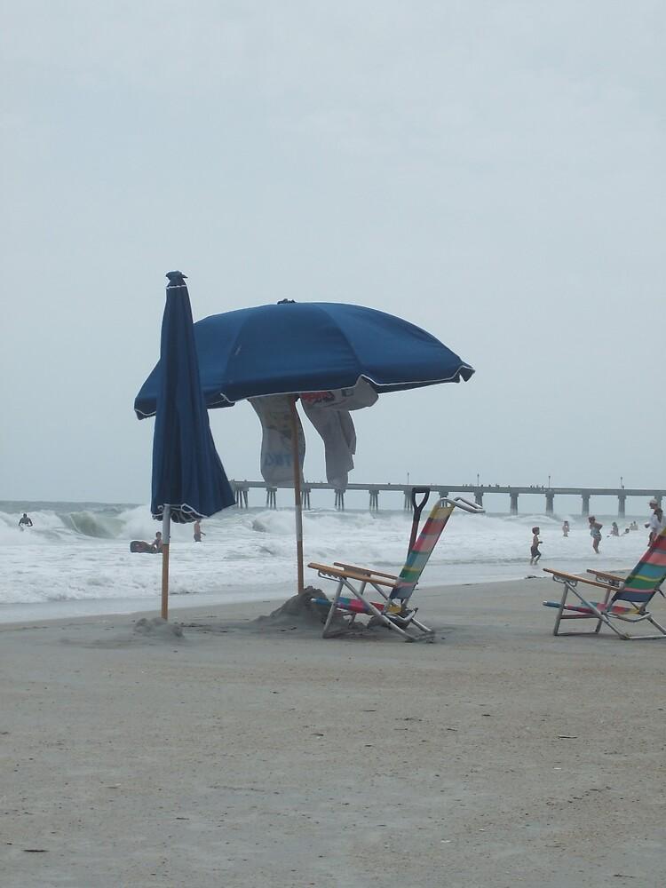 Beach Umbrellla by Kimberly D. Allen