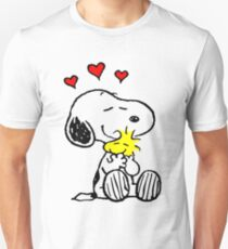 Snoopy Hugging Unisex T-Shirt