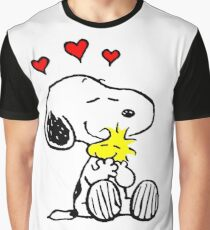 Snoopy Hugging Graphic T-Shirt