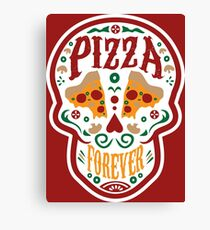 Pizza Forever Canvas Print