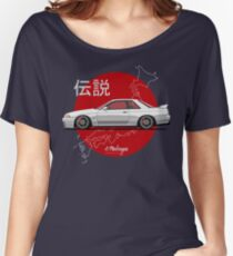 Skyline R32 GT-R (white) Women's Relaxed Fit T-Shirt