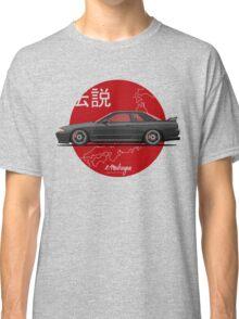 Nissan Skyline R32 GT-R (black) Classic T-Shirt