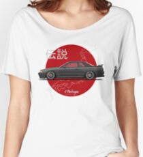 Skyline R32 GT-R (black) Women's Relaxed Fit T-Shirt