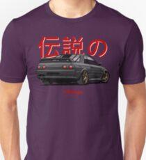 Nissan Skyline R32 GTR (black) T-Shirt