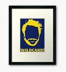 Wildcard Framed Print