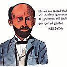 W.E.B. DuBois - Civil Rights Pioneer by danvera