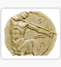 Centaur the archer (sagittarius) Sticker