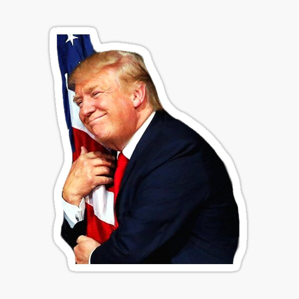 Trump Loves America Sticker