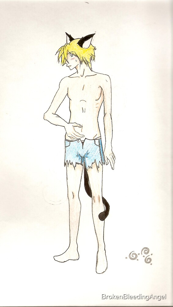 Neko Boy by BrokenBleedingAngel
