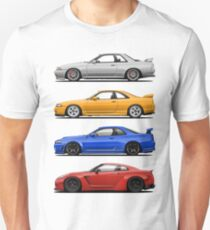 Skyline GTR. Generation Slim Fit T-Shirt