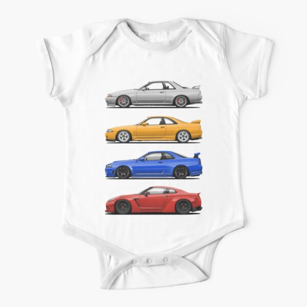 Skyline GTR. Generation Baby Body Kurzarm