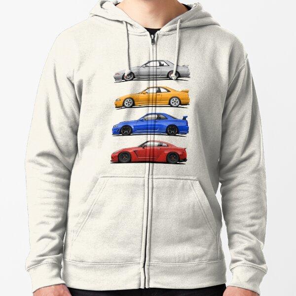 Skyline GTR. Generation Zipped Hoodie