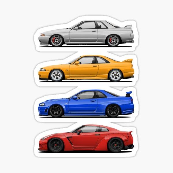 Skyline GTR. Generation Sticker