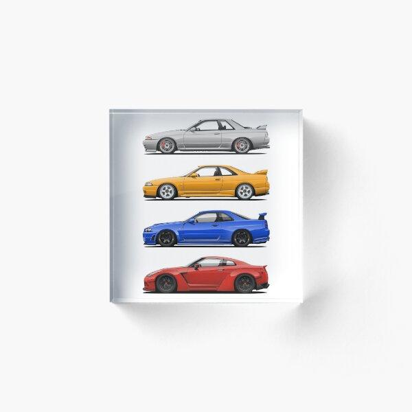 Skyline GTR. Generation Acrylic Block