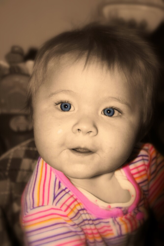 Blue-Eyed Baby by Melissa Arel Chappell
